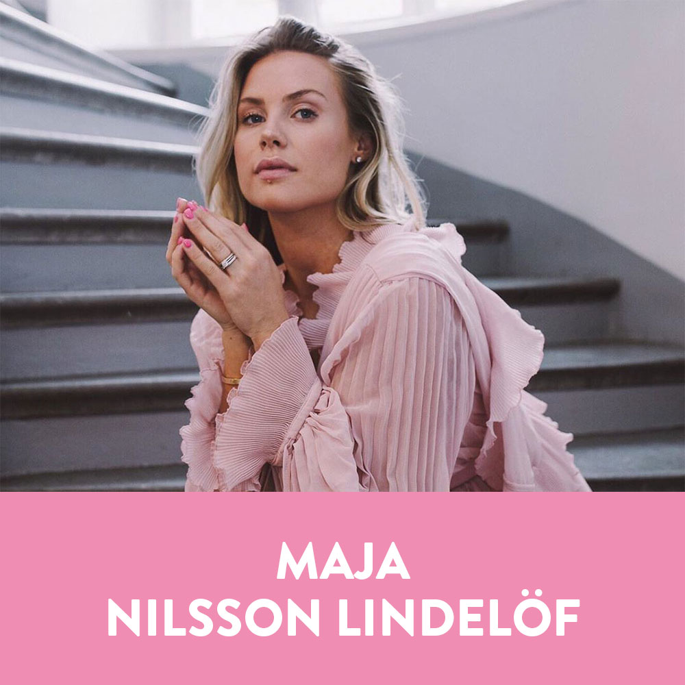 Influencers in Sweden - Maja Nilsson Lindelöf