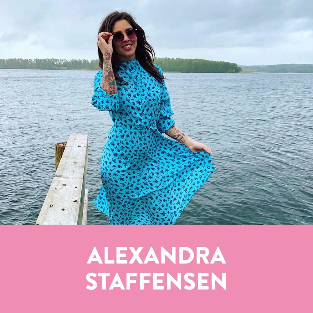 Influencers in Denmark - Alexandra Staffensen