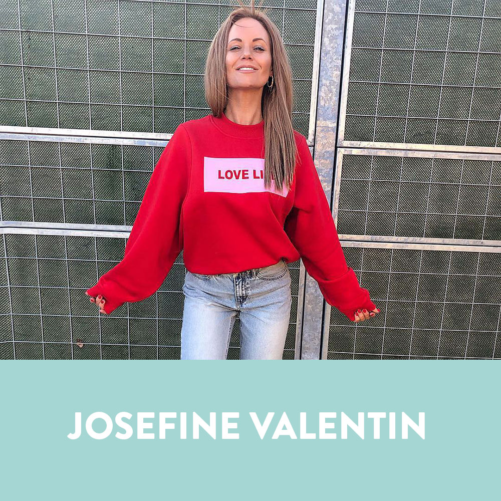 Influencers in Denmark - Josefine Valentin
