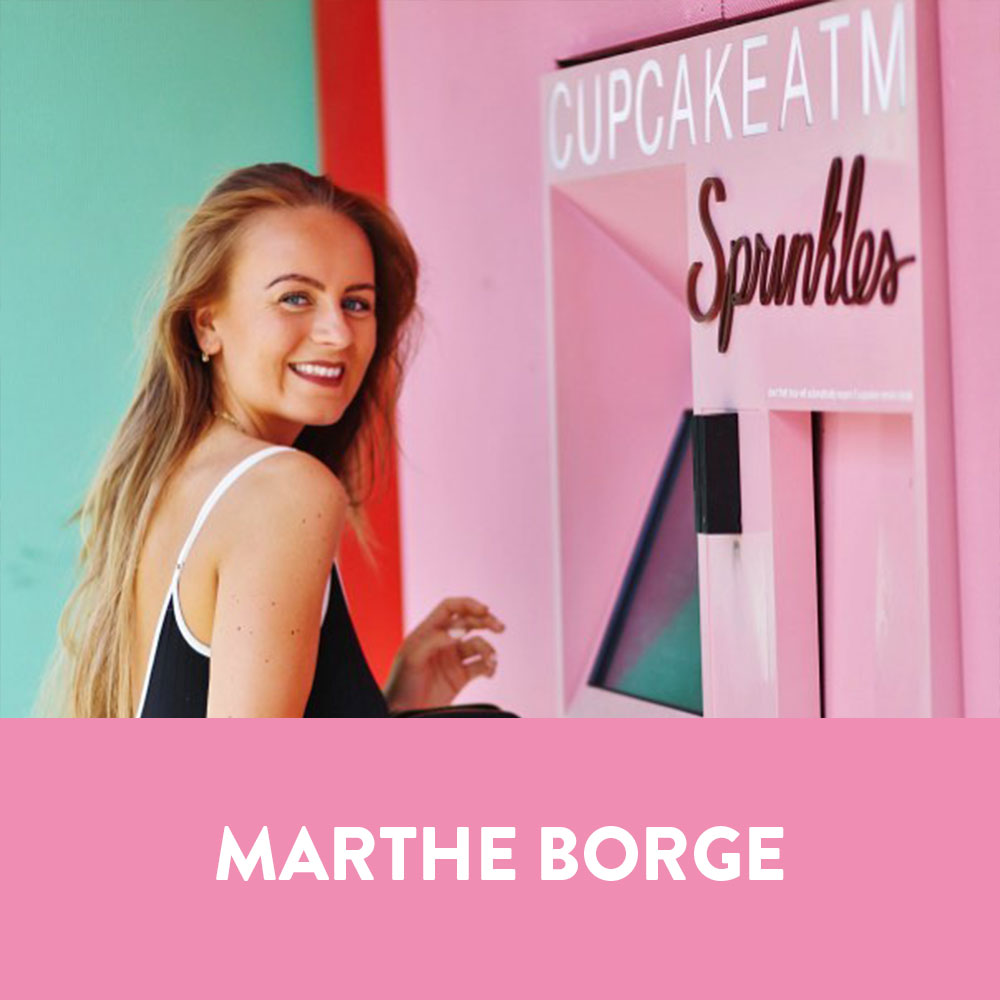 Influencers in Norway - Marthe Borge