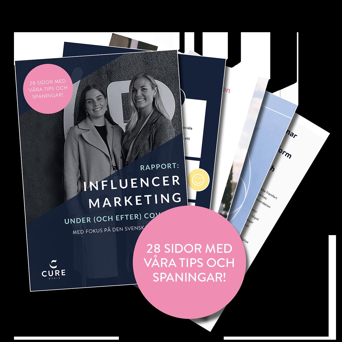 Rapport - Influencer Marketing Covid-19 - vad ska man tänka på?