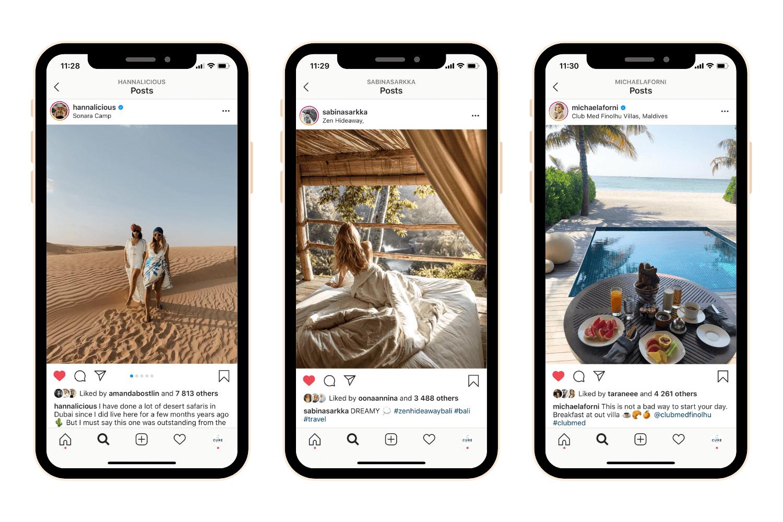 Influencer Instagram Posts