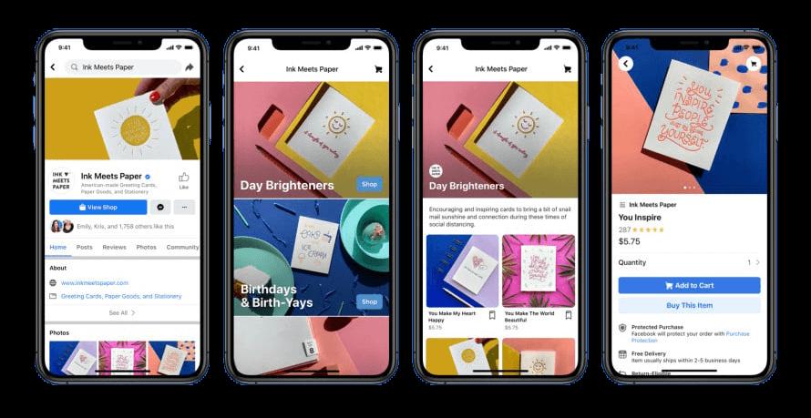 Facebook lanserar Facebook Shops