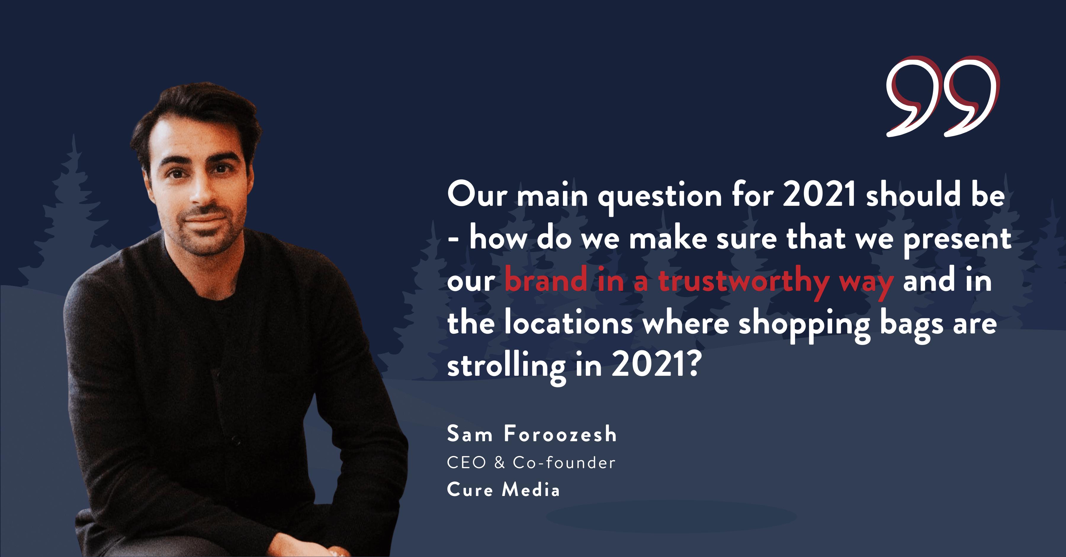 Sam Foroozesh Christmas Host 2020